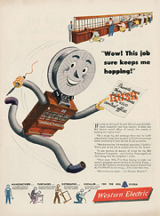 Western Electric Mascot