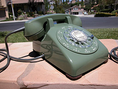 Moss Green Western Electric Model 500